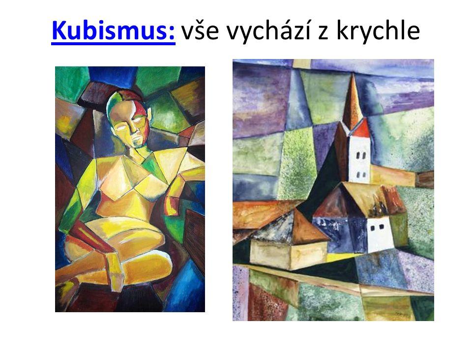 Kubismus: vše vychází z krychle