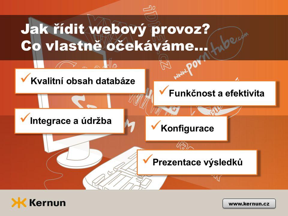 www.kernun.cz Jak řídit webový provoz.