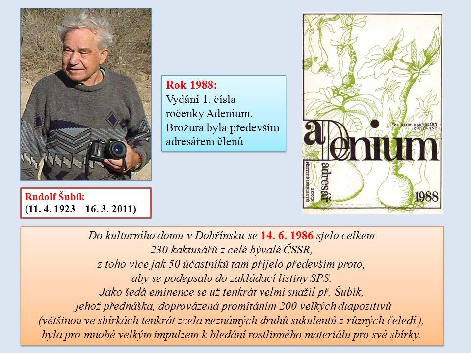 1. Vydání v AJ v r. 1981 (ARTIA, Praha) 1. Vydání v Čj r. 1992 (Brázda, Praha)