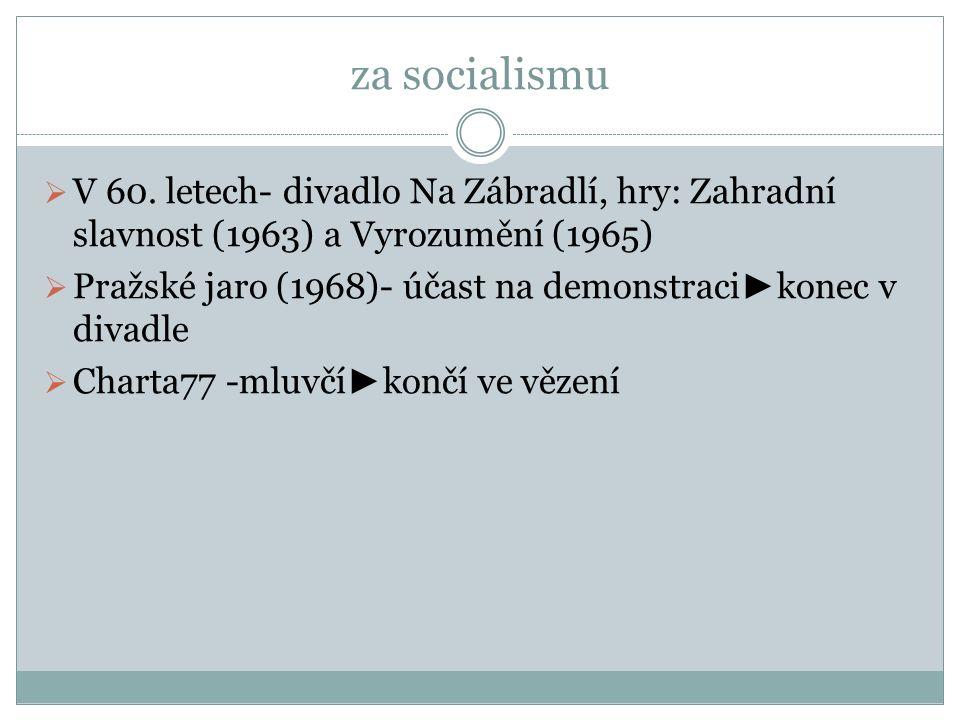 prezident Havel  1989- 2003  poslední čs.