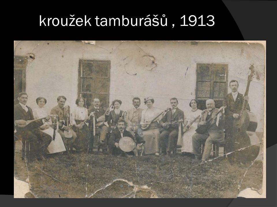 kroužek tamburášů, 1913