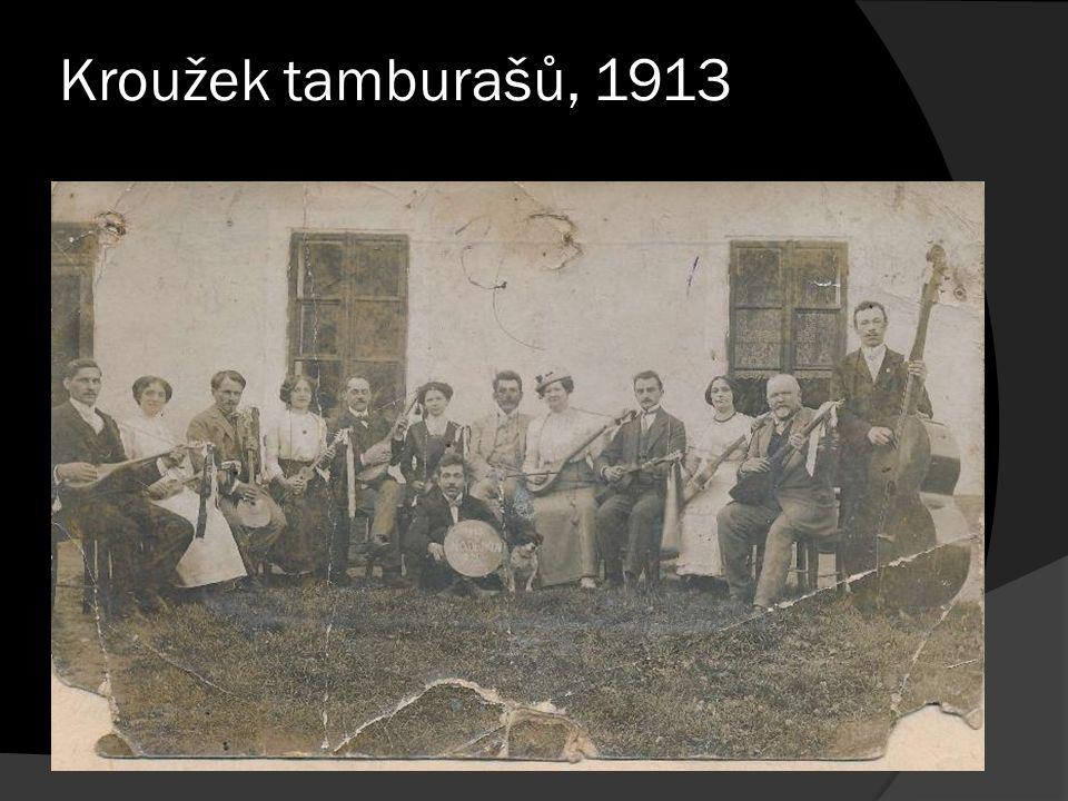 Kroužek tamburašů, 1913