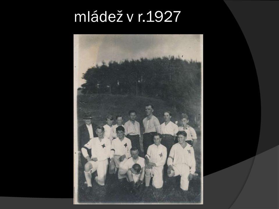 mládež v r.1927