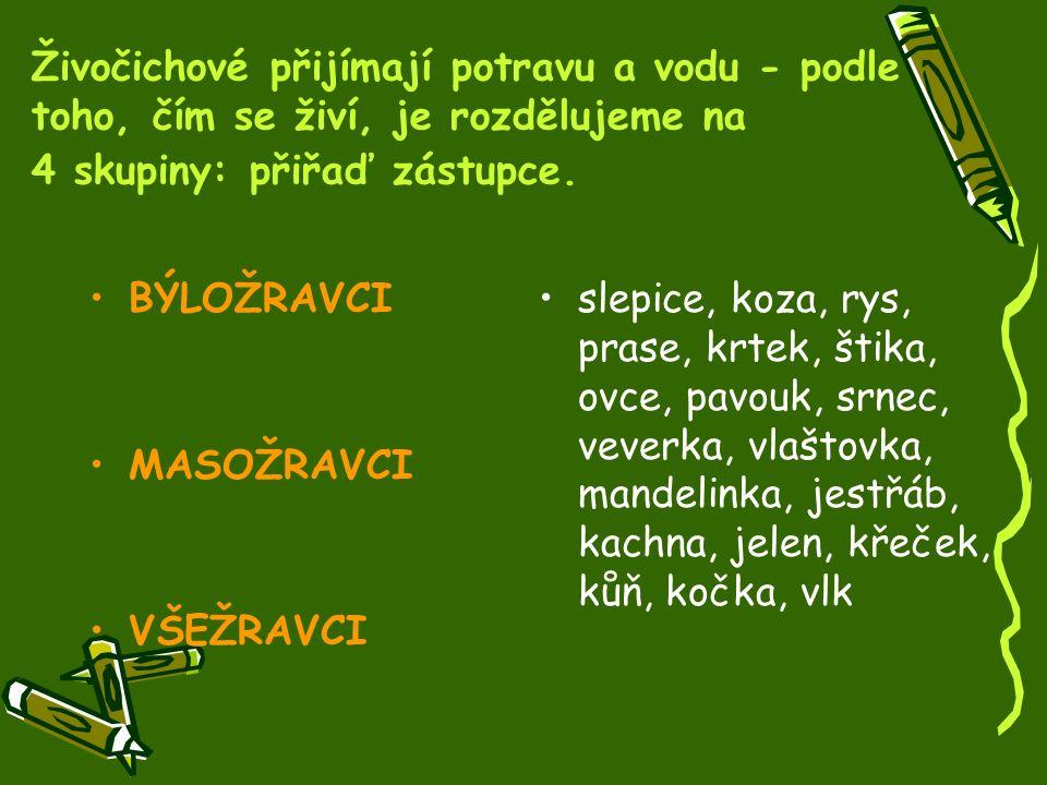 KONTROLA : KONTROLA : Správně seřaď stádia vývoje: vajíčko, larva, kukla, dospělý jedinecMotýl: vajíčko, larva, kukla, dospělý jedinec vajíčko, pulec, dospělý jedinecŽába: vajíčko, pulec, dospělý jedinec Vyber z nabídky - kukla, vajíčko, dospělý jedinec, pulec, larva.