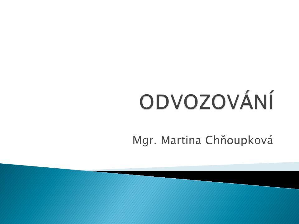 Mgr. Martina Chňoupková