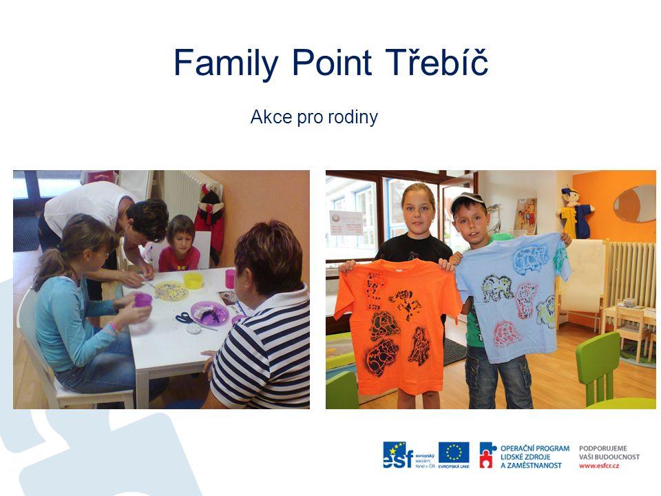 Family Point Třebíč Akce pro rodiny