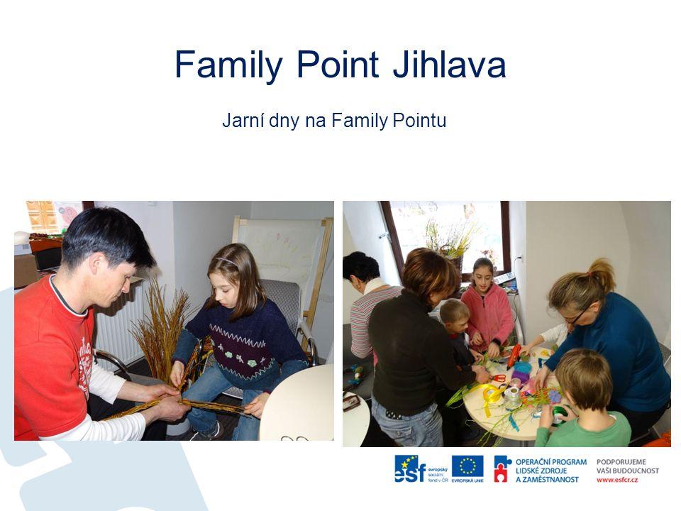 Family Point Jihlava Jarní dny na Family Pointu