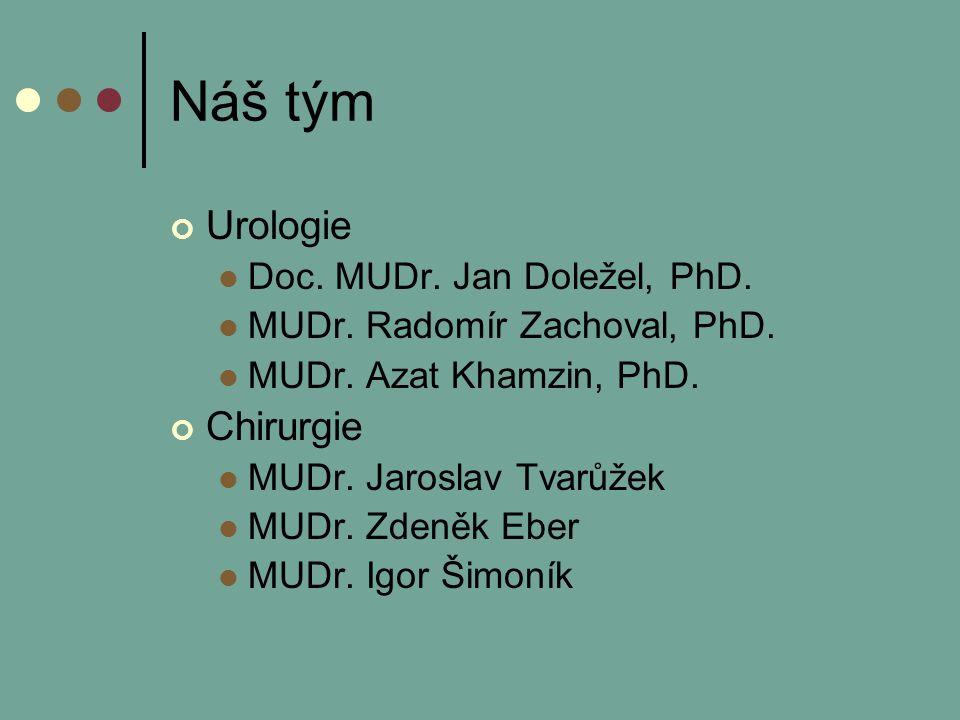 Náš tým Urologie Doc. MUDr. Jan Doležel, PhD. MUDr.