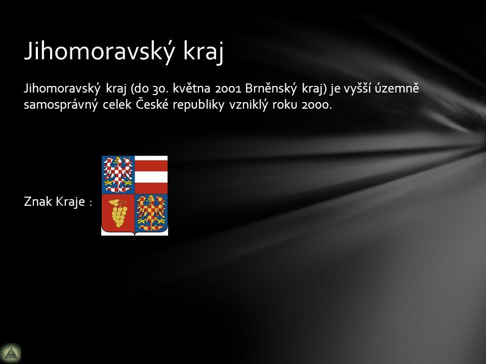 Jihomoravský kraj (do 30.