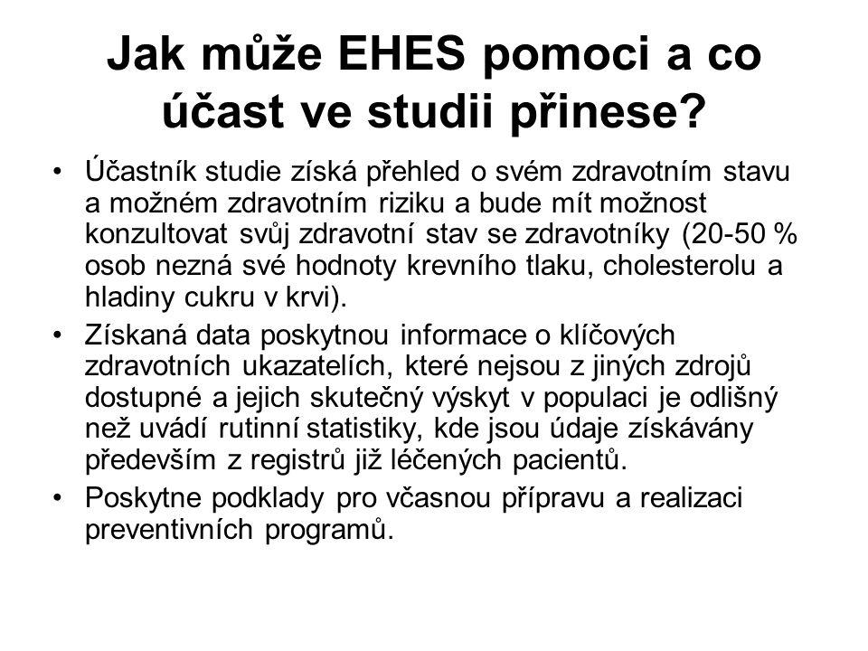 Šetření EHES 2014 se v Česku uskutečnilo od 15.června 2014 do 28.