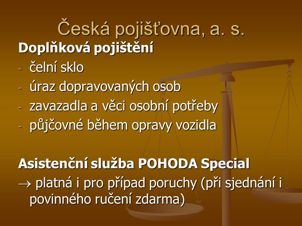 Česká pojišťovna, a. s.