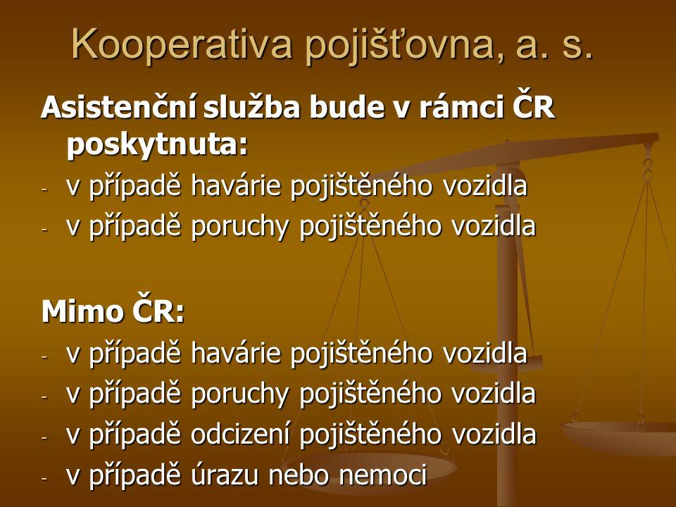 Kooperativa pojišťovna, a. s.