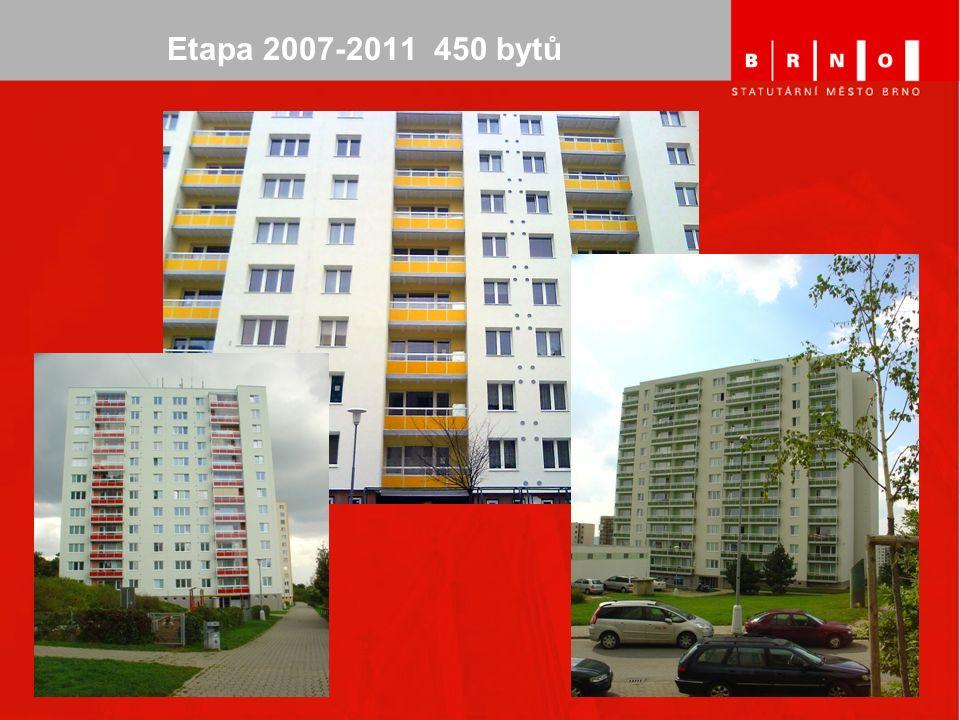 Etapa 2007-2011 450 bytů