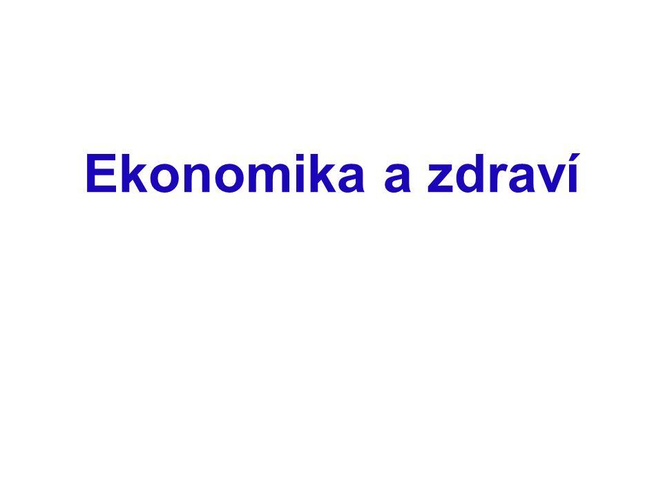 Ekonomika a zdraví