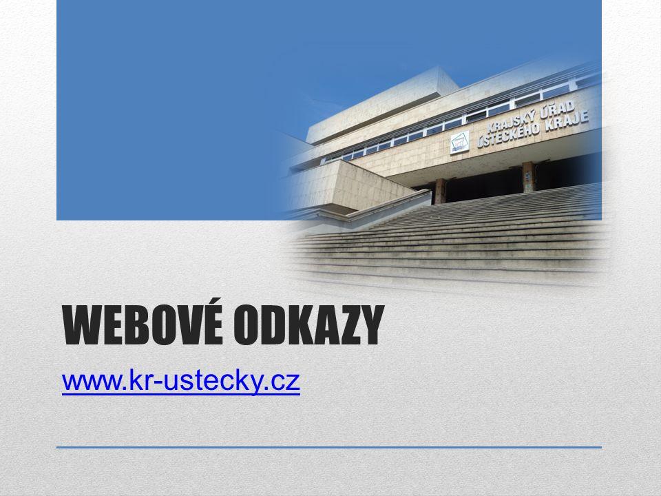 WEBOVÉ ODKAZY www.kr-ustecky.cz