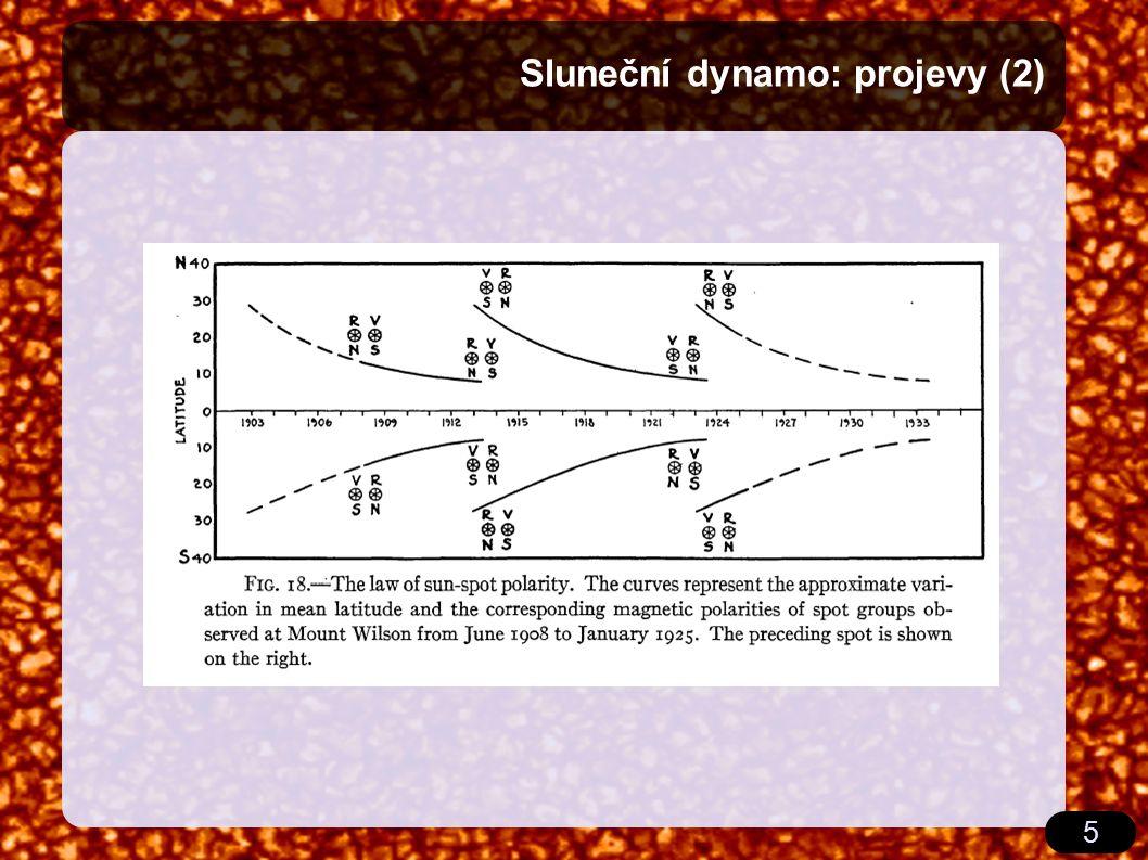 5 Sluneční dynamo: projevy (2)