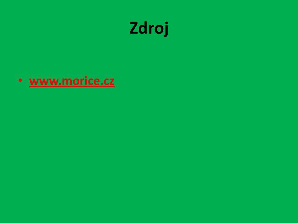 Zdroj www.morice.cz