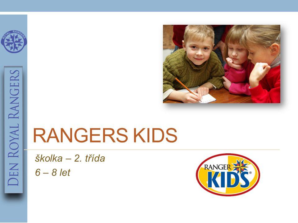 RANGERS KIDS školka – 2. třída 6 – 8 let