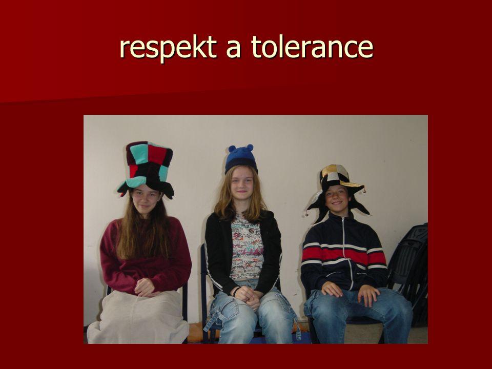 respekt a tolerance