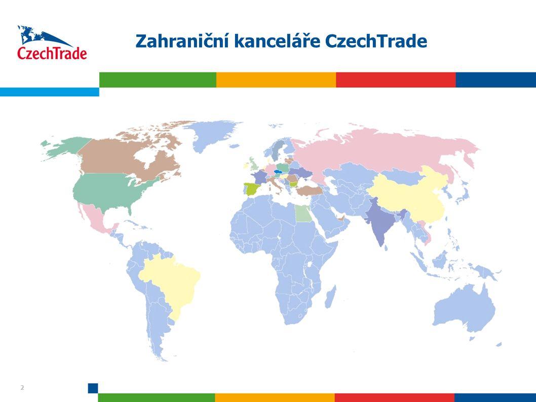 2 2 Zahraniční kanceláře CzechTrade