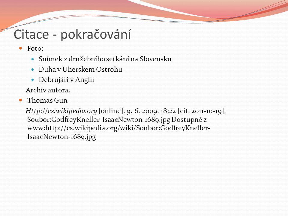 Citace - pokračování Foto: Snímek z družebního setkání na Slovensku Duha v Uherském Ostrohu Debrujáři v Anglii Archív autora.