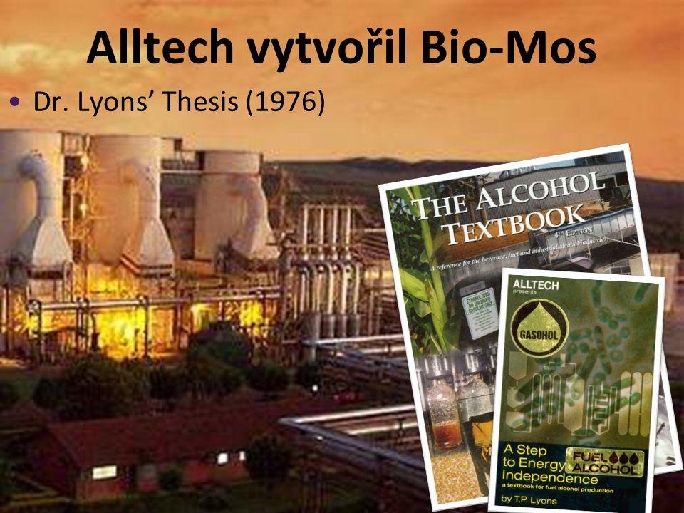 Alltech vytvořil Bio-Mos Dr. Lyons' Thesis (1976)
