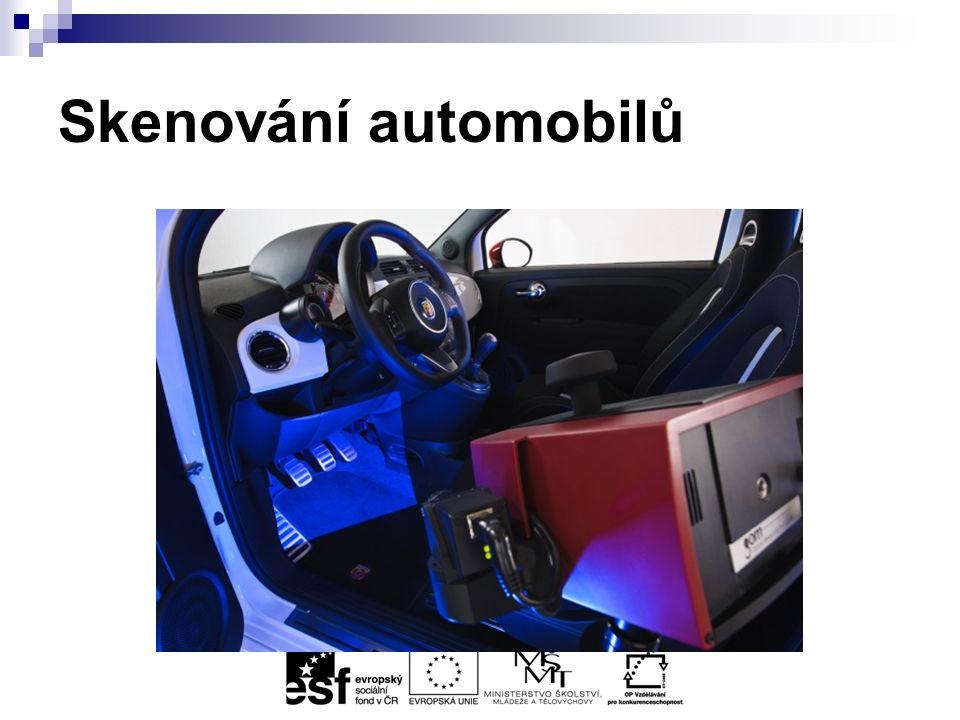 Skenování automobilů