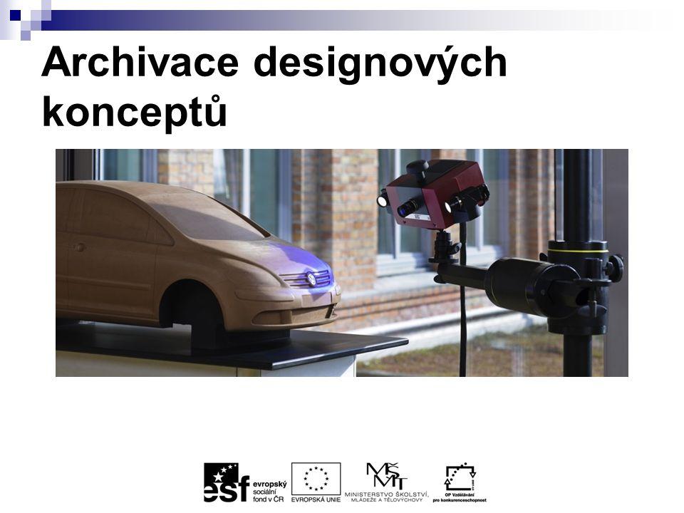 Archivace designových konceptů
