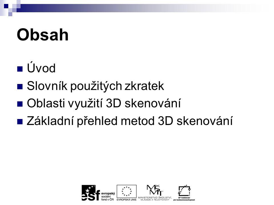 Laserové 3D skenery