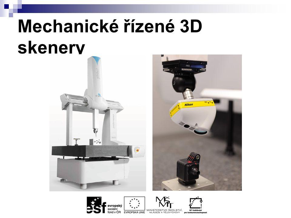 Mechanické řízené 3D skenery