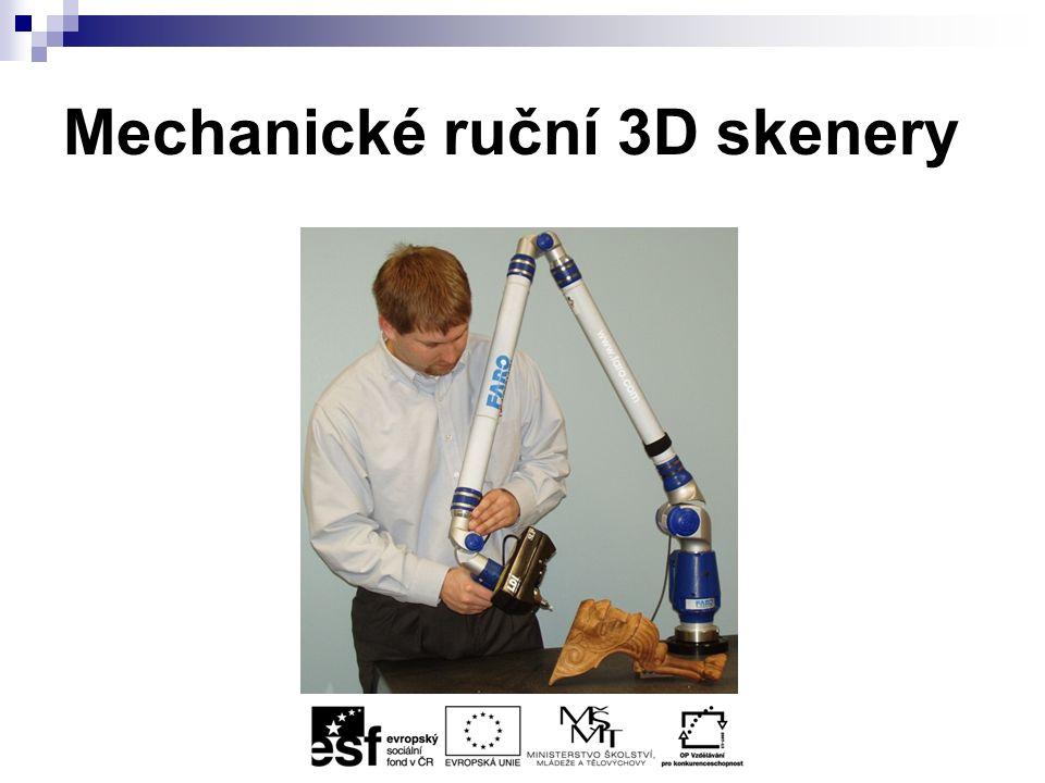 Mechanické ruční 3D skenery