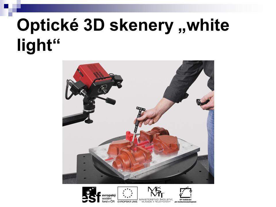 """Optické 3D skenery """"white light"""
