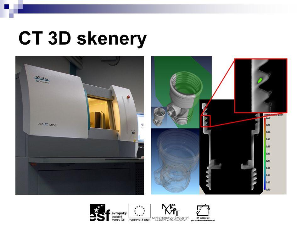 CT 3D skenery