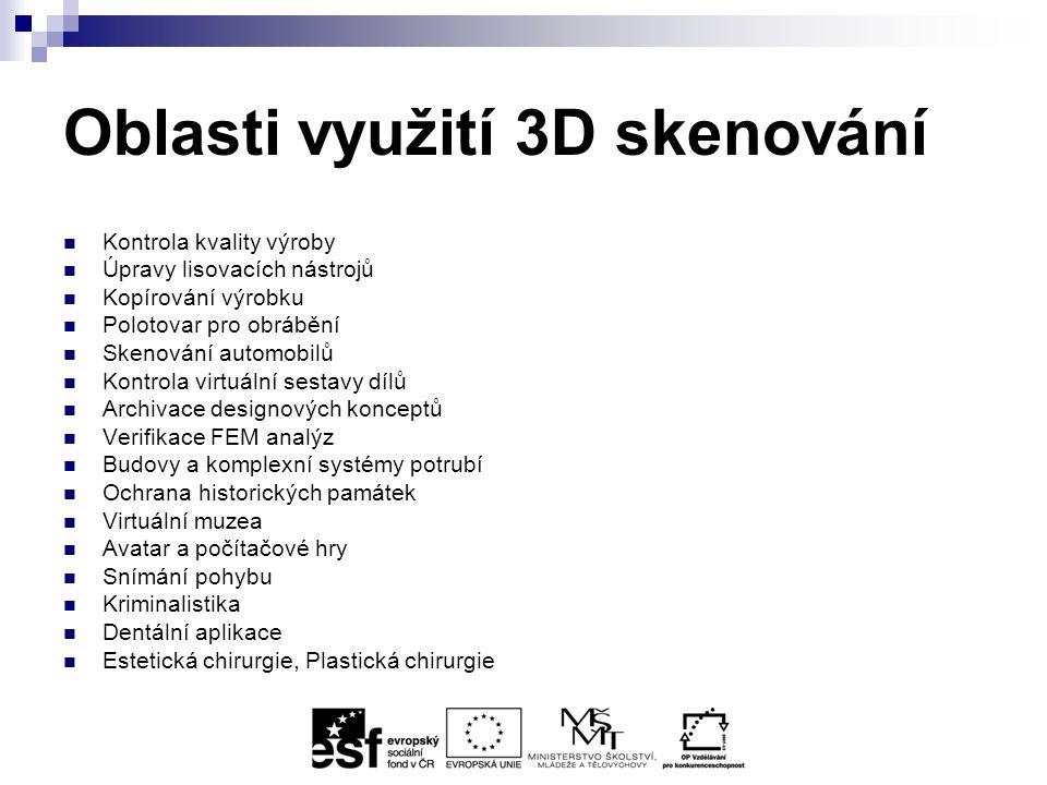 Destruktivní 3D skenery