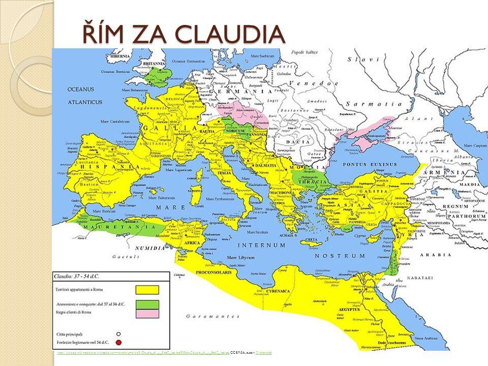 ŘÍM ZA CLAUDIA http://upload.wikimedia.org/wikipedia/commons/thumb/c/c8/Claudio_41_-_54dC_jpg.jpg/800px-Claudio_41_-_54dC_jpg.jpghttp://upload.wikimed
