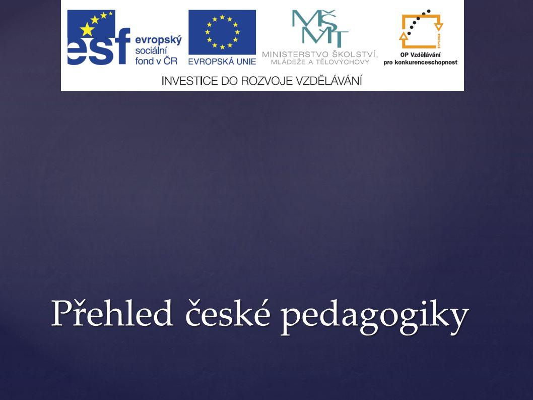 Přehled české pedagogiky