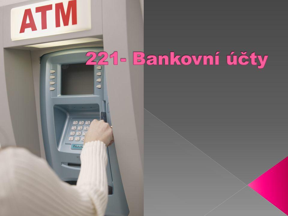  1) charakteristika BÚ  2) druhy BÚ  3) zásady účtování