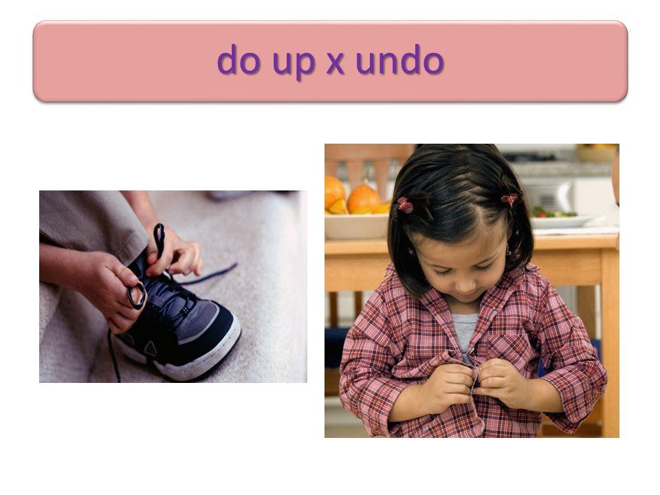 do up x undo