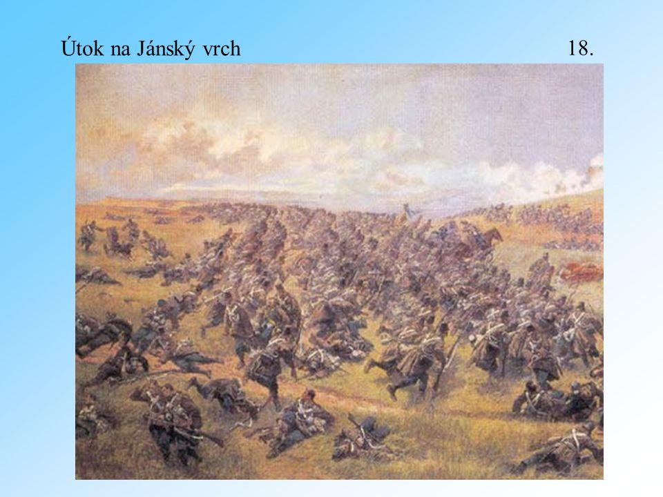 Útok na Jánský vrch 18.