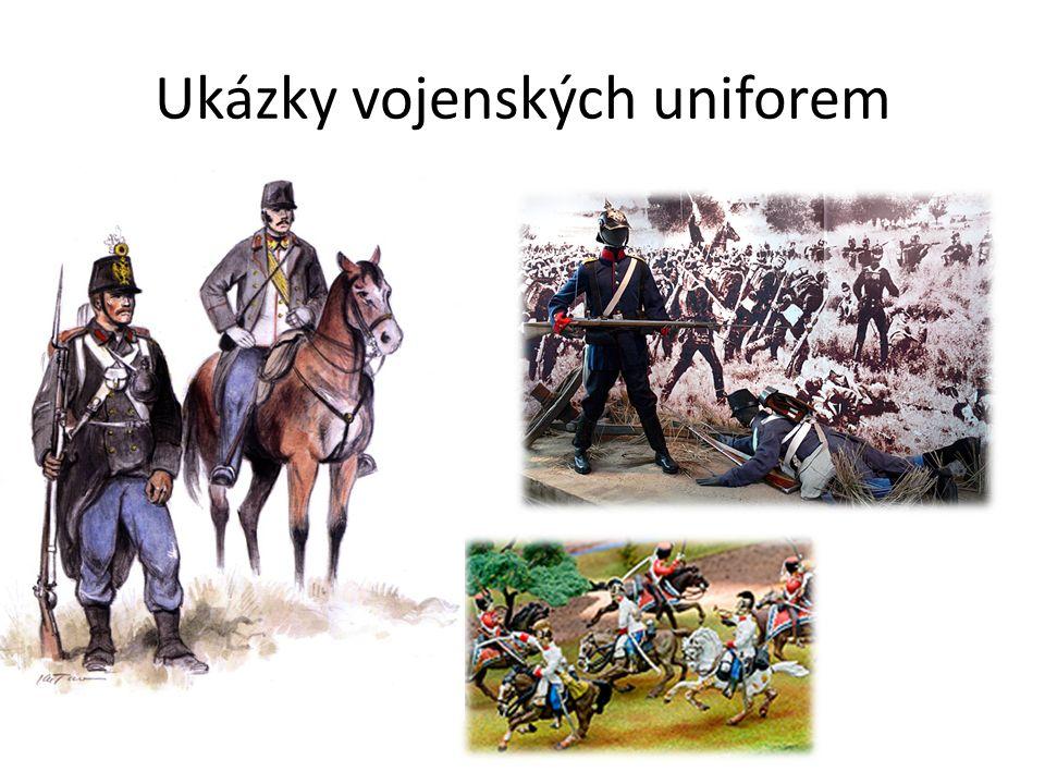 Ukázky vojenských uniforem