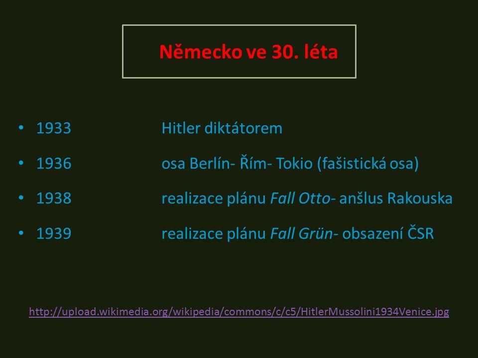 Německo ve 30.