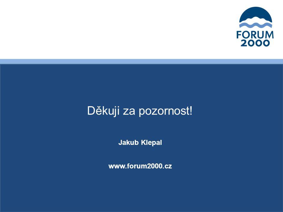Děkuji za pozornost! Jakub Klepal www.forum2000.cz