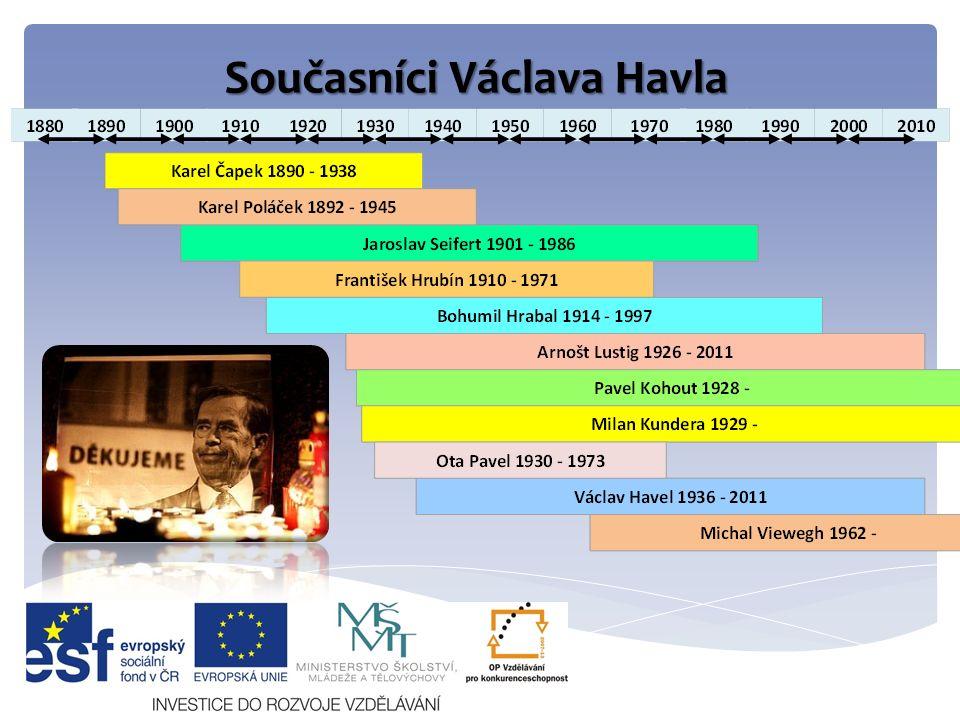Současníci Václava Havla
