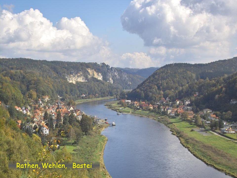 Königstein a Pfaffenstein