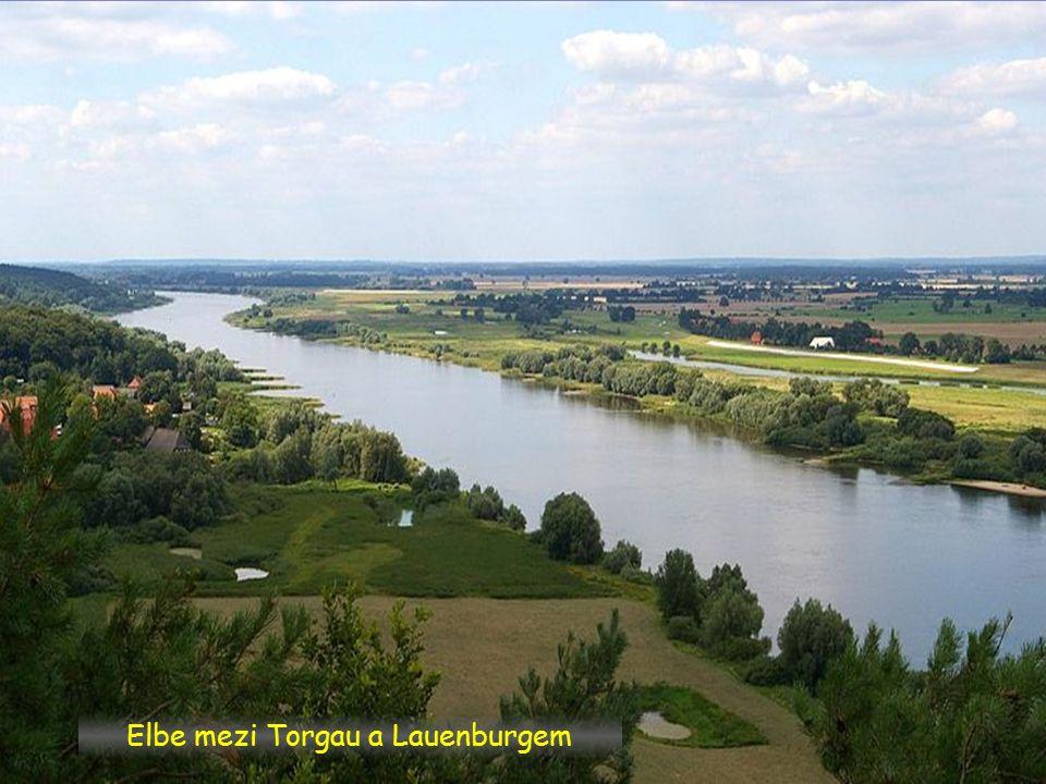 Wittenberg spolková země Sachsen-Anhalt, soutok s Schwarzen Elster