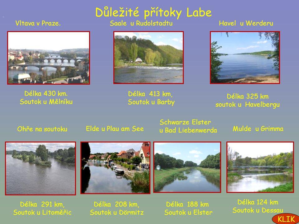 Labe je evropský veletok. Pramení v Česku v Krkonoších.