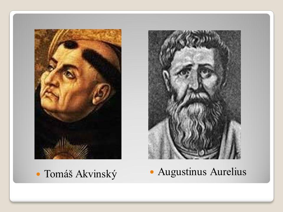 Tomáš Akvinský Augustinus Aurelius