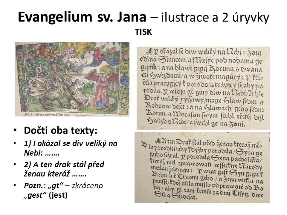 Evangelium sv.
