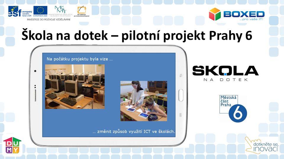 Škola na dotek – pilotní projekt Prahy 6