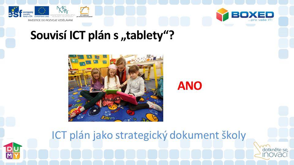 ICT plán jako strategický dokument školy